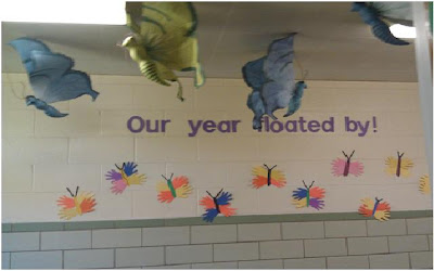 Our year floated by!
