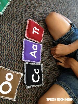 Alphabet Bean Bags!
