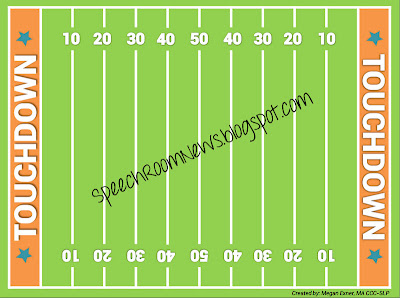 Down the Field; Football Freebie