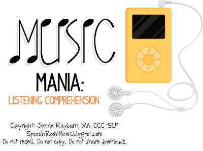 Music Mania: Listening Comprehension