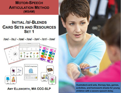 Motor-Speech Articulation Method Packets {Review & Giveaways)