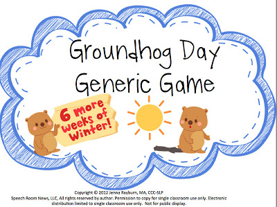 Groundhog Day {Freebie}