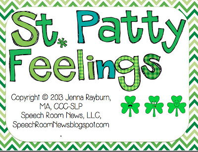 St. Patrick's Day Feelings {Freebie}