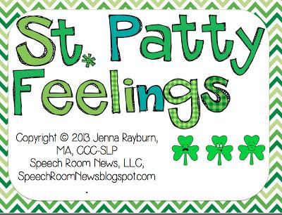 St. Patrick's Day Feelings {Freebie}