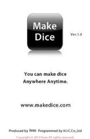 Make Dice App