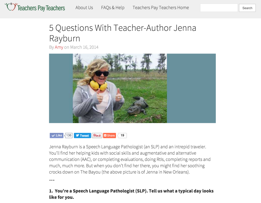 Five Qs with Jenna Rayburn