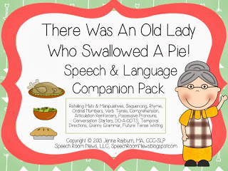 There Was an Old Lady…. with PIE!