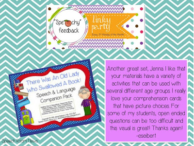 S..peachy Feedback Linky Party