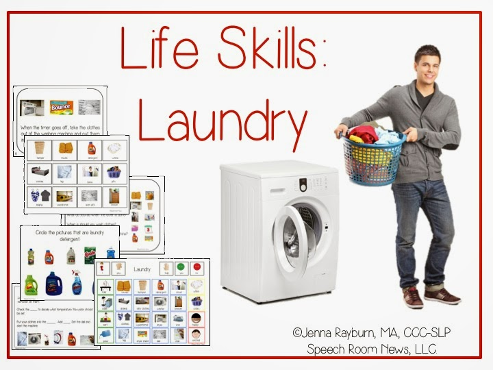 Functional Life Skills Laundry Lessons Apps Speech Room News – Daily Living Skills Worksheets