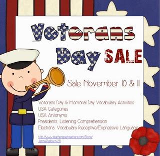 Veterans Day Sale :)