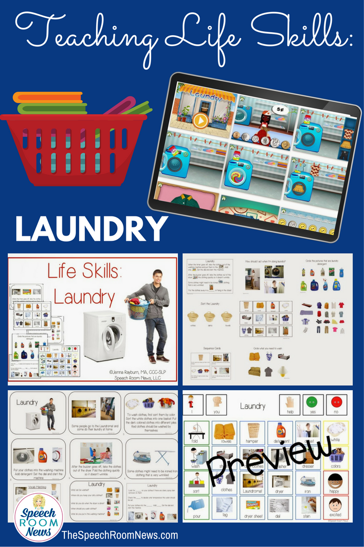 functional life skills  laundry lessons  u0026 apps