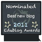 EduBlog Award Nominee! Hooray!