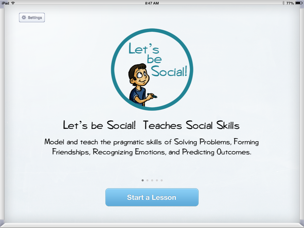 Let's Be Social: App Review