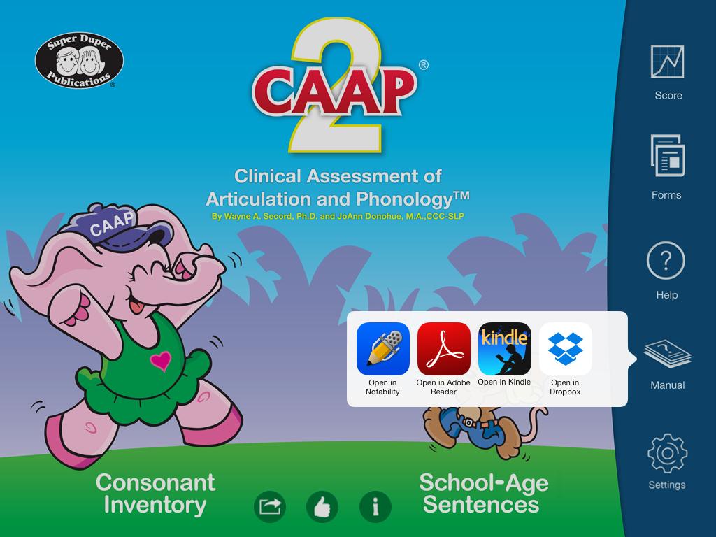 CAAP-2: App Review - Speech Room News