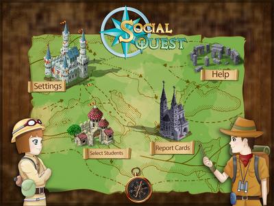 Social Quest {App Review & Giveaways} + Sunny Artic Test!