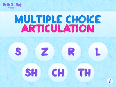 Multiple Choice Articulation {App Review & Giveaways}