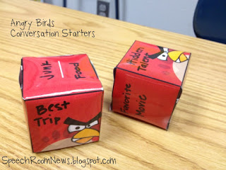 Angry Birds Conversation Starters