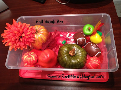 Fall Vocab Box