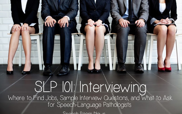 SLP 101: Interviewing