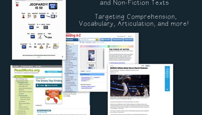 Favorite Resources: Fiction and Non-Fiction Texts