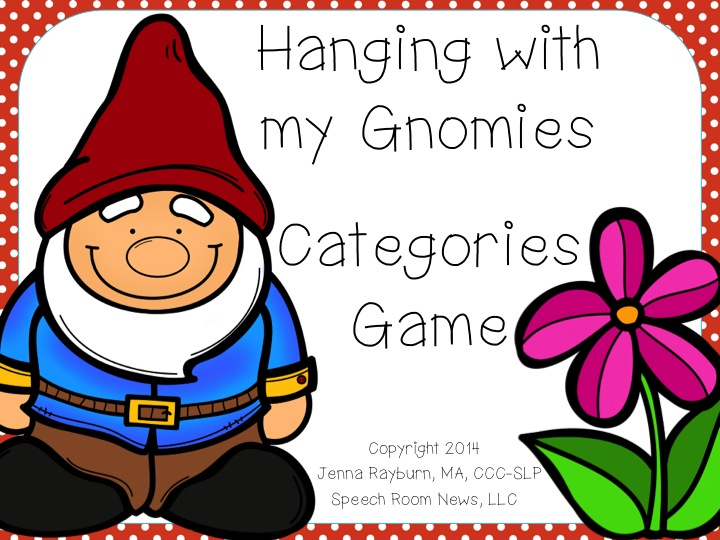 Hanging with my Gnomies!