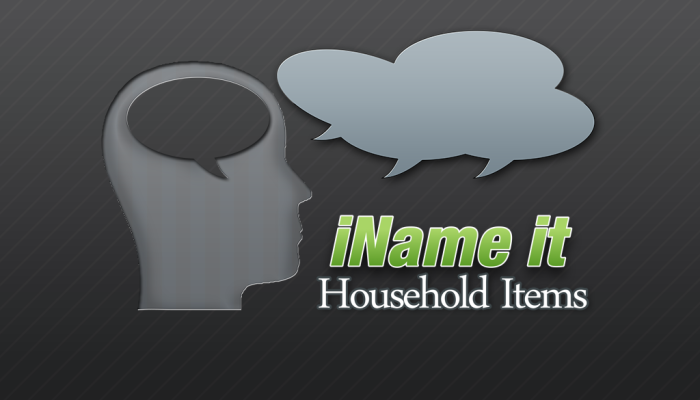 iName It: Household Activities {App Review & Giveaway}
