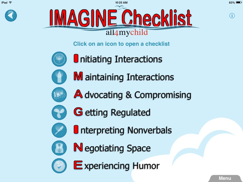 IMAGINE Checklist {App Review and Giveaway}