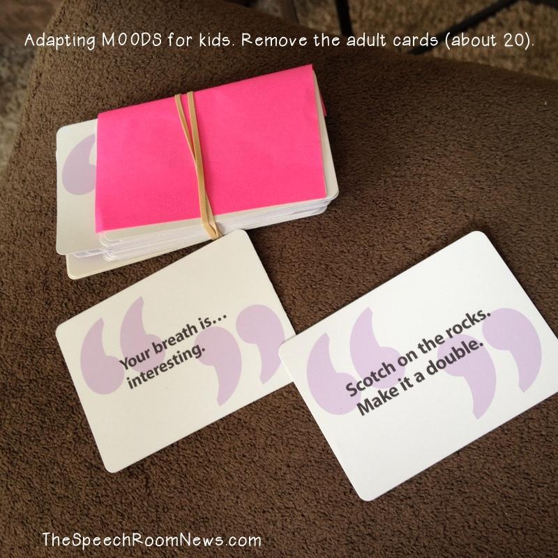 Moods: Social Language Game - Speech Room News