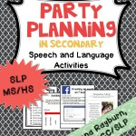Party Planning Therapy Activity