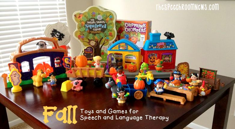 Fall Toys and Games for Speech and Language Therapy