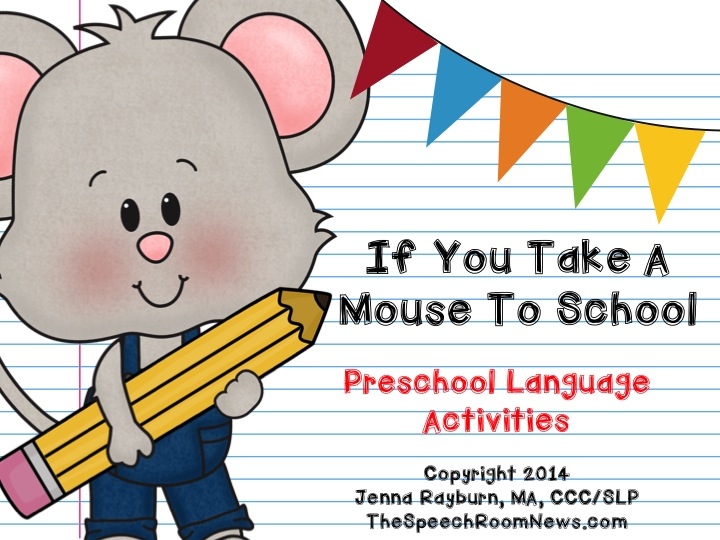 Printables If You Take A Mouse To School Worksheets take a mouse to speech room news slide01