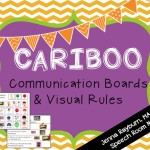 Cariboo Communication Board Freebie