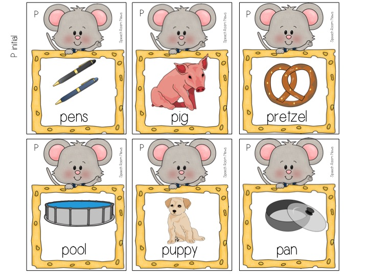 Take a Mouse to Speech Speech Room News – If You Give a Mouse a Cookie Worksheets