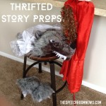 Little Red Riding Hood: Thrifted Story Props