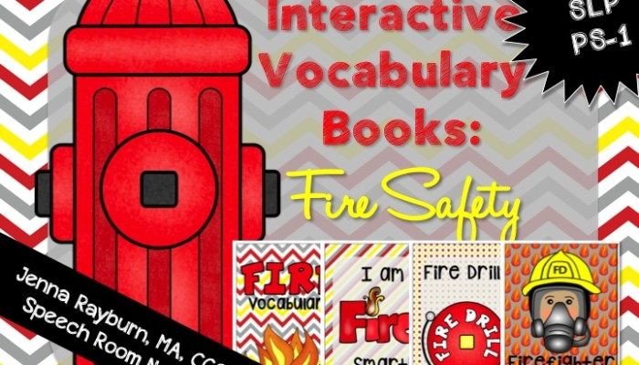 Fire Safety Interactive Books