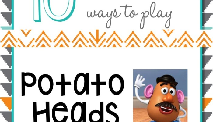 10 SLP Ways to Play: Potato Heads