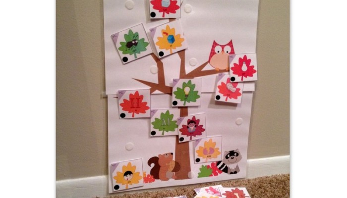 Falling Leaves: Apraxia Set