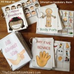 Interactive Vocab Books: All About Me & Fall