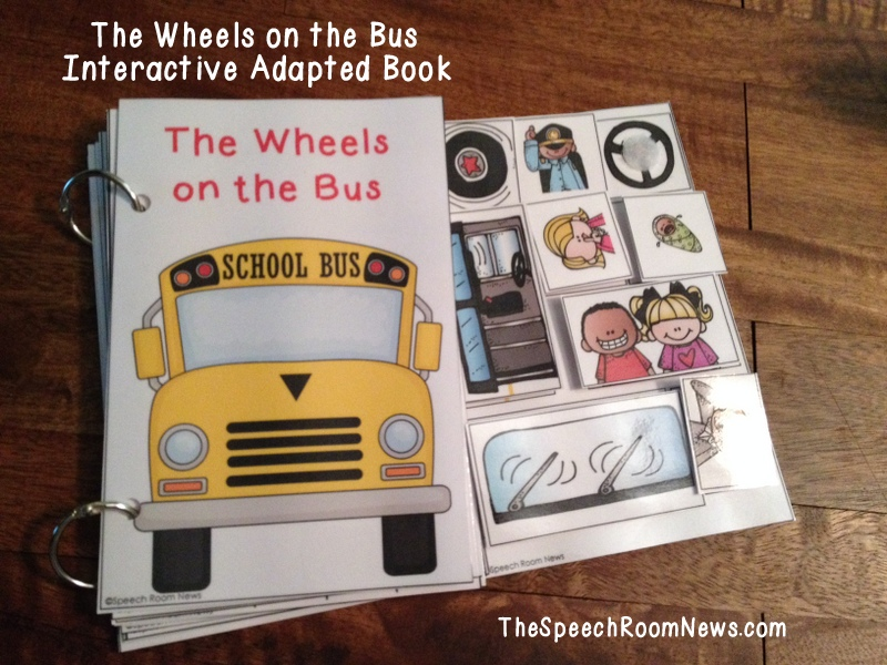 Interactive Vocabulary Books for Back to School - Speech Room News