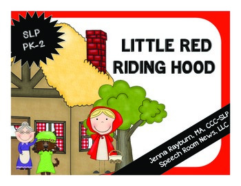 Little Red Riding Hood Speech and Language Unit