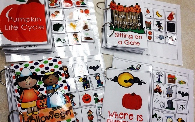 Interactive Books: Songs & Pumpkins