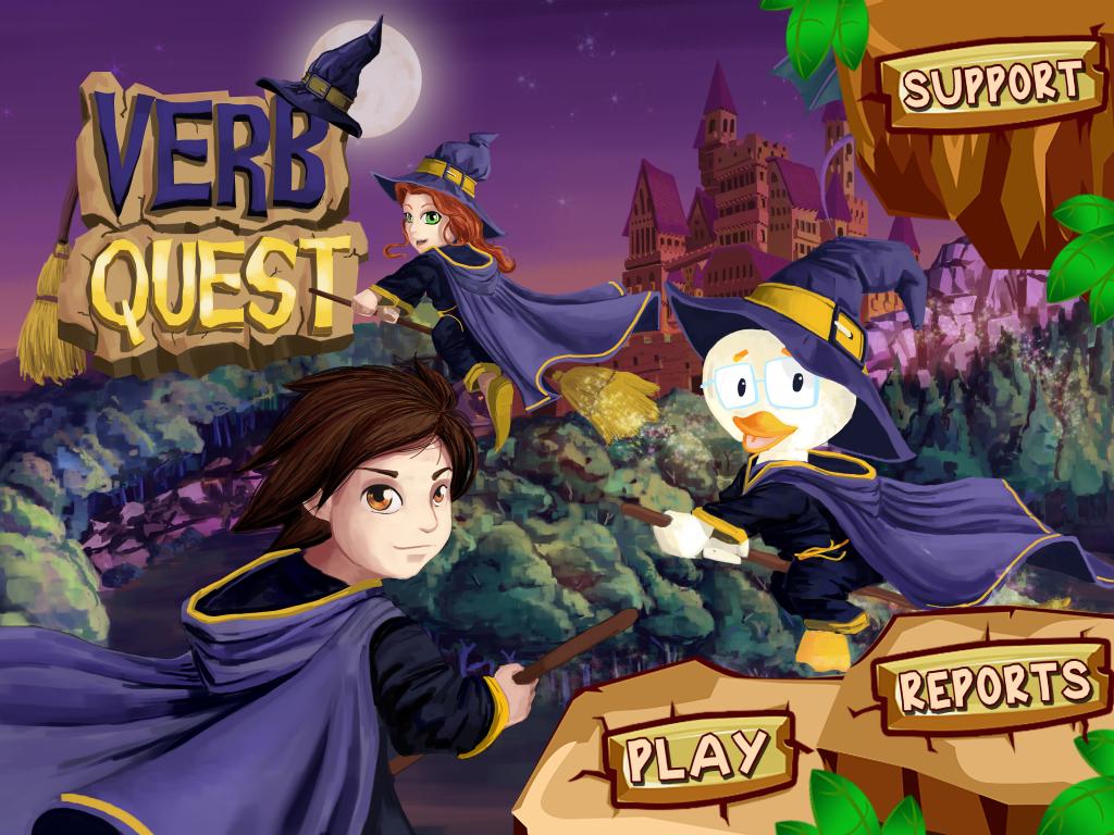 Verb Quest App Review & Giveawy