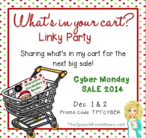 What's in Your Cart Linky Party at SRN