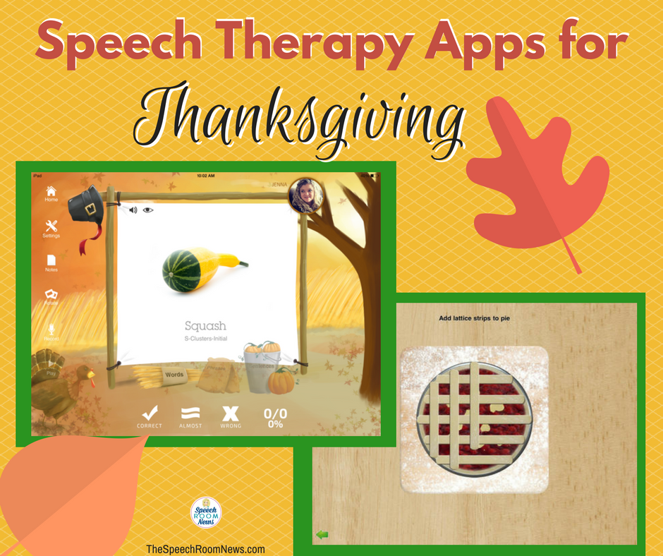 Speech Therapy Apps for Thanksgiving