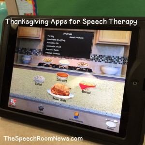 Thanksgiving Apps from Speech Room News