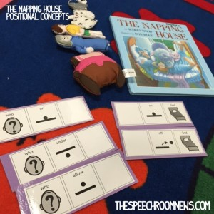 The Napping House from Speech Room News
