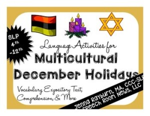 Multicultural Holidays Speech Room News
