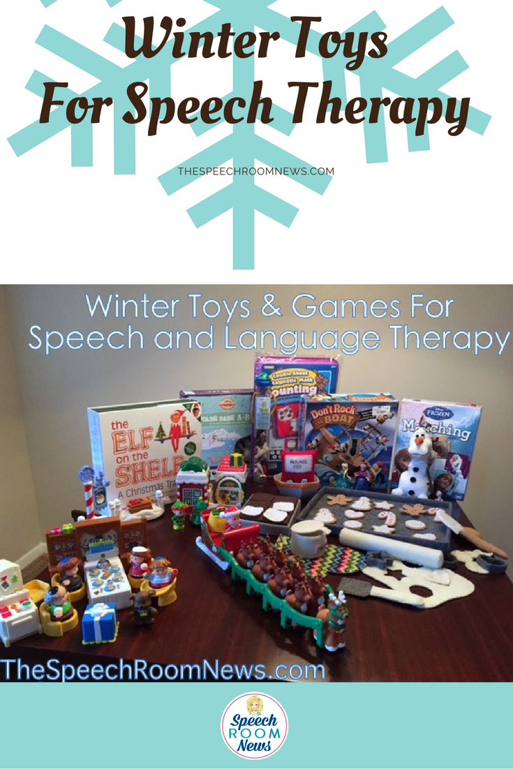 Winter Toys and Games for Speech Therapy