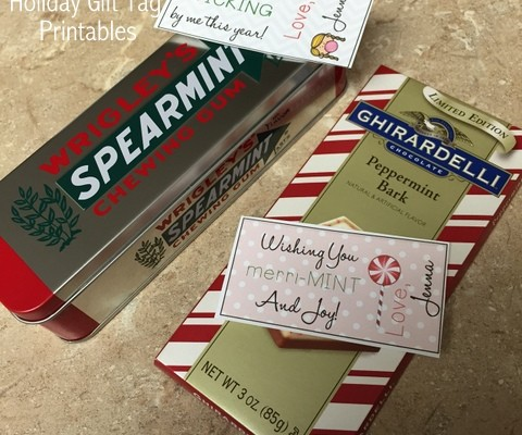 Holiday Treat Tags