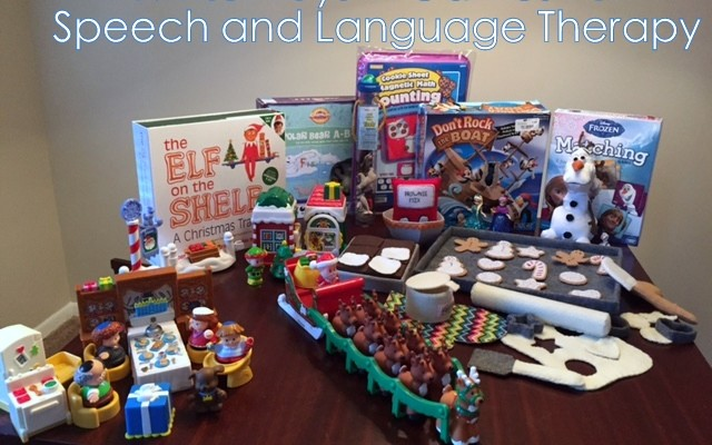 Winter Toys and Games for Speech and Language Therapy